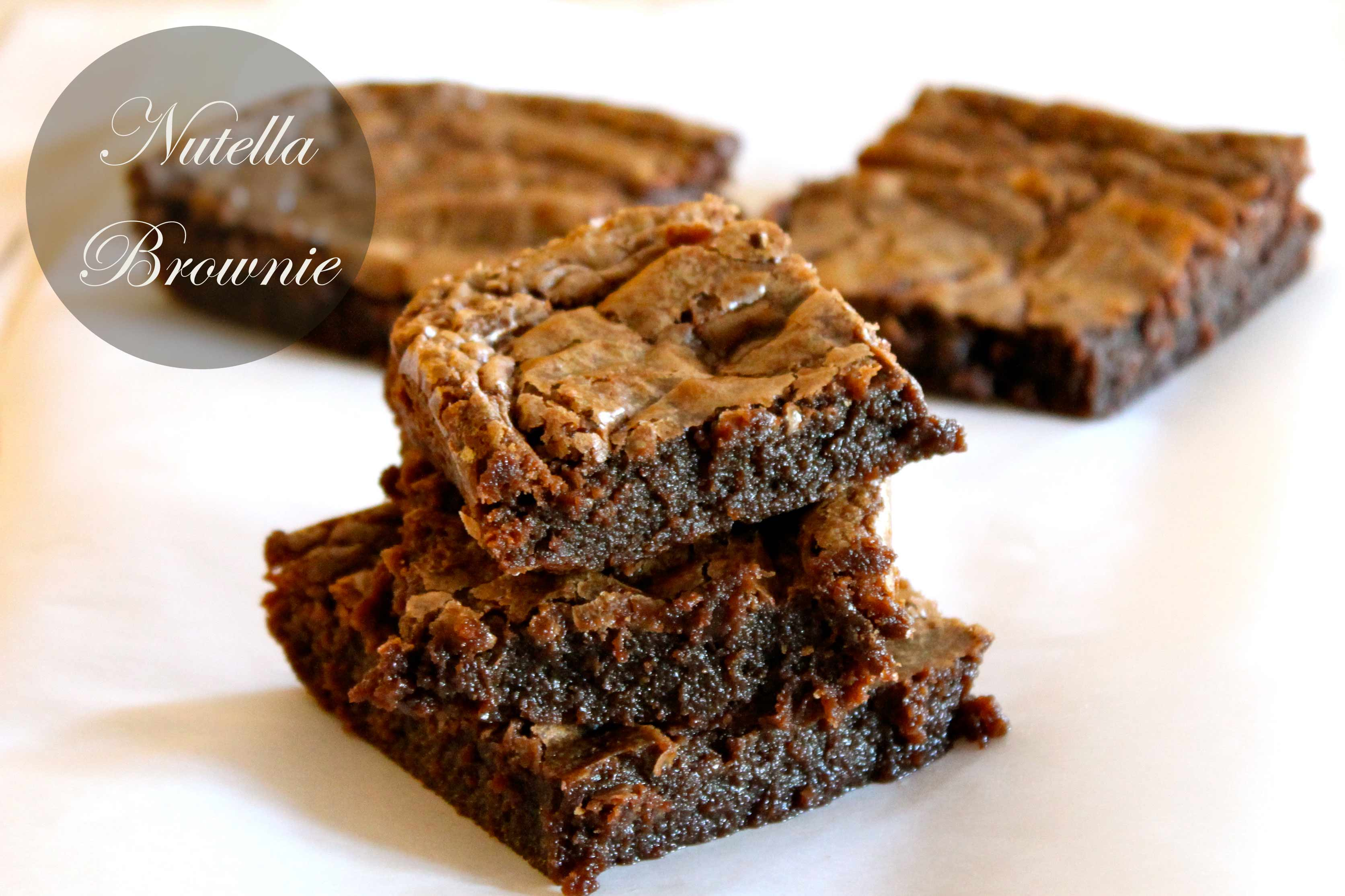 Recipe: Nutella Chocolate Brownie | Eat Style Shop