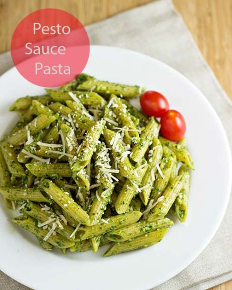 Pasta-with-Spinach-Pesto-Sauce-4