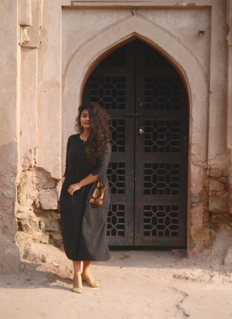 how to style a black kurta eatstyleshop